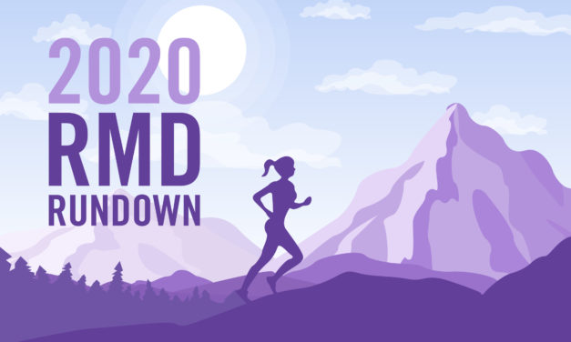 The 2020 RMD Rundown