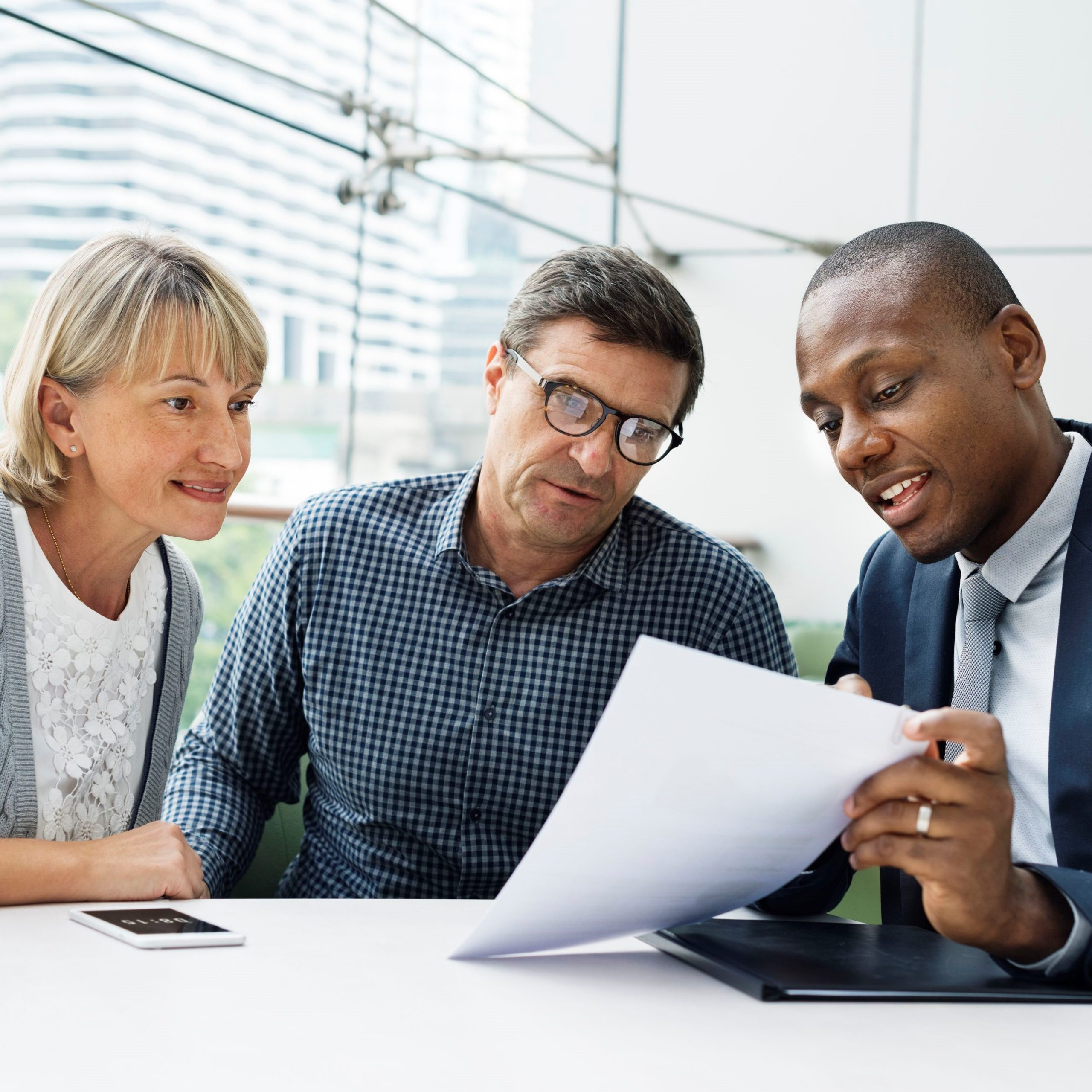 tax planning with financial advisor
